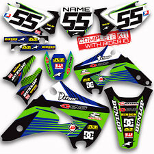 2003 2004 2005 2006 2007 2008 KX 125 / 250 GRAPHICS KIT RIDGELINE: BLUE / GREEN
