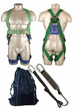 Working at Height safety kit, harness, lanyard