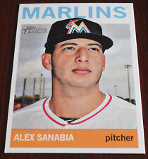 2013 Topps Heritage High Number On line exclusive Alex Sanabia Marlins