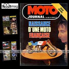 MOTO JOURNAL 352 KAWASAKI KR 250 350 750 BUT 500 MZ 250 TS GNÔME & RHONE 1978