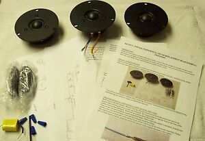 ACOUSTIC RESEARCH AR-LST/2 NEW REPLACEMENT TWEETER SET-REAR TERMINAL
