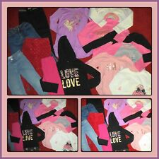 HUGE LOT~GIRLS CLOTHES JEANS TOPS DRESS BEBE GAP WINTER FALL OUTFITS SIZE 5 5T