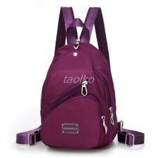 Women Nylon Waterproof Casual Small Backpack Travel Purse Bag Satchel Sling Bag