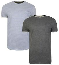 Ringspun New Men's Stripe Ribble T-Shirts Cotton Casual Jersey Tee Top
