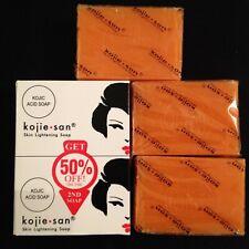 Kojie San Kojic acid skin lightening soap X 3 bars Original & Authentic
