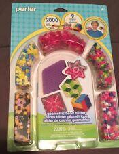 Perler Beads - Geometric Activity Kit 2000 Beads New