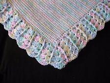 NEW Handmade Crochet Baby Blanket Afghan (Multi)