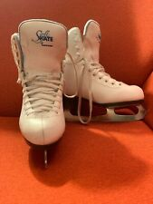 Soft Skate by Jackson Ice Figure Skates Size Girls 4. Recently Sharpened