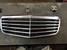 Mercedes E Class W211 07-09  Front Hood Black Chrome Grill Grille