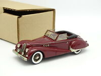 Ma Collection Brianza Résine 1/43 - Delahaye 135 MS Cabriolet Antem 1947 Rouge