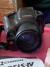 Chinon Genesis 4 film camera auto zoom composition macro zoom lens 38-135mm