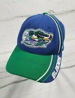 Florida Everblades ECHL Hockey Team Fitted XL Hat Ball Cap Zephyr Blue Green   i