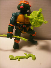vintage TMNT Tortue Wacky Action Ninja Turtles ROCK n'ROLL MICHAELANGELO Complet