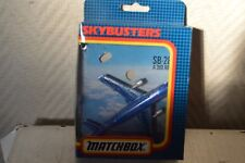 AVION MATCHBOX SKYBUSTER AIRBUS A 300 RESCUE BOITE  PLANE/PLANO SB 28