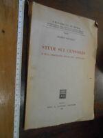 libro :Studi sui censores e sull'arbitratus della lex contractus Giuffrè 1957
