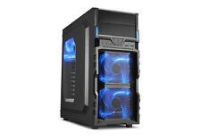 Sharkoon VG5-W Blue Tower Gehäuse Schwarz