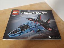 Lego Technic 42066 (Le jet de course) - instructions