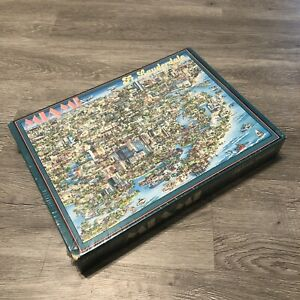Fort Lauderdale - Miami - Florida Vintage 1988 504 Piece Jigsaw Puzzle New Other