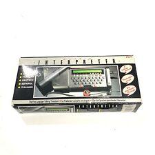 Matrix Interpreter Mkii Hand Held W/ ManualAnd Box Model Tp 8002