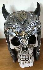 Latex mould for making horned skull