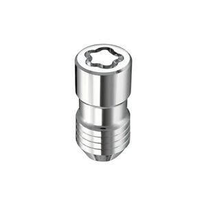 "McGard 24215 4 Lug Nut Lock Set Chrome M14 x 1.5 Pitch 1.639"" Length w/ Key"