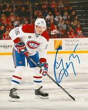 SERGEI GONCHAR signed MONTREAL CANADIENS 8X10 PHOTO with COA
