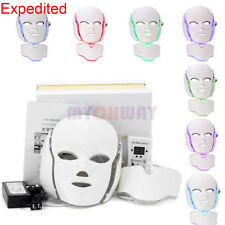 LED Photon Light Facial & Neck Mask Photodynamic PDT Skin Rejuvenation Machine