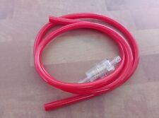 Miele k53 rabeneick binetta gasolina manguera 5x8mm rojo con filtro nuevo