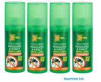 4 x Xpel Mosquito & Insect Repellent Pump Spray Tropical Formula  70ml
