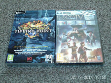 Europa Universalis IV Platinum Pack & fate of the world tipping point new&sealed