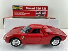 Revell Red Ferrari 250 LM Diecast Metal 1:24 Scale Model Car