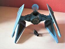 Star Wars Action Fleet  TIE Interceptor mit Figur und Standfuß Top!