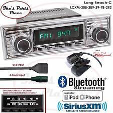 RetroSound Long Beach-CXM Radio/BlueTooth/iPod/USB/RDS/3.5mm AUX-In-308-309-VW