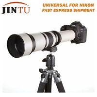 650-1300mm f/8-16 Telephoto Lens for Nikon D5300 D5100 D3400 D3300 D3200 D3100