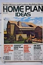 Better Homes & Gardens HOME PLAN Ideas 1983 Spring USA Magazine PB 130 Pages
