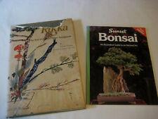 Rikka BOOK lot vintage Soul of Japanese Flower Arrangement Yuchiku Sunset Bonsai