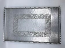 VTG Hand Forged Aluminum Everlast Tray With Raspberry / Blackberry Leaf Detail