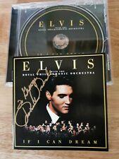 More details for elvis priscilla presley signed cd