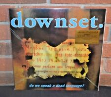 DOWNSET. - Do We Speak A Dead Language? Ltd Import 180G YELLOW VINYL LP #'d NEW!