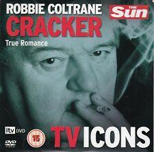 ROBBIE COLTRANE Cracker - True Romance ( THE SUN Promo DVD )