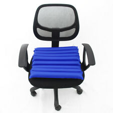 Extra Large Office Flight Travel Air Inflatable Seat Cushion Pillow + Pump