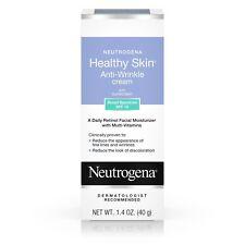 New Neutrogena Healthy Skin Anti-Wrinkle Cream Retinol SPF 15 1.4 OZ.