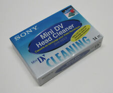 1 Sony Mini DV head cleaning cassette for JVC GR D770 G750 D72 D90 D93 camcorder