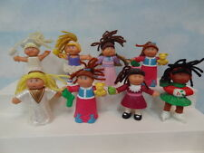 Mcdonalds Adorable Cabbage Patch Kids Dolls Lot 8pcs 1992/1994* Well Made