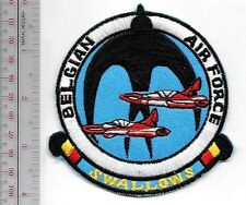 Aerobatic Belgium Royal Air Force Swallows Display Team Flying 2 SIAI-Marchetti