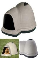 Large Dog Hause Petmate w/Microban Igloo Rain Wind Resistance Secure Protection