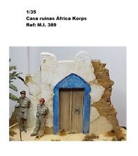 WWII HOUSE RUINS AFRICA KORPS for diorama 1/35 accessories resina