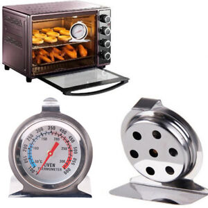 Stainless Steel Oven Cooker Thermometers Temperature Gauge Quality 300ºC , 600ºF