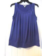 Women's Dressbarn purple top  size L