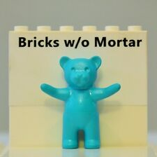 New Genuine LEGO Light Turquoise Teddy Bear Animal Belville 5843 5977